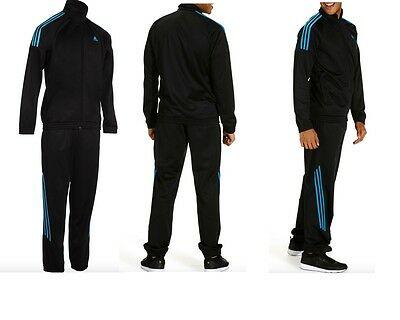 Adidas Boys Mens  Polyester Tracksuit Set New