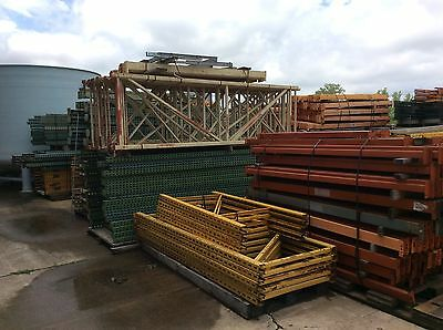 Huge Lot Of Pallet Racking Tear Drop & Hook Style