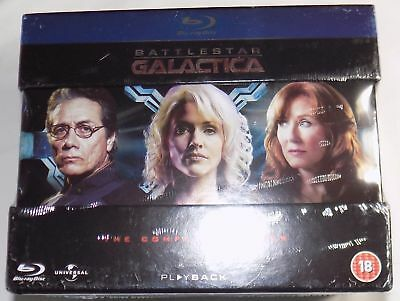 BATTLESTAR GALACTICA THE COMPLETE SERIES New 20-Disc BLU-RAY Box Set Region-Free