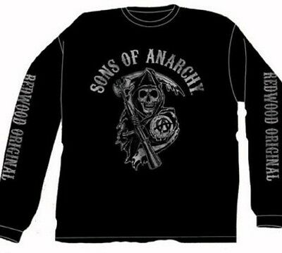 Officially Licensed Sons of Anarchy Fear the Reaper Long Sleeve T-shirt