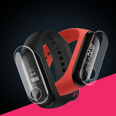 For Xiaomi Mi Band 3 Screen Protector 5 Pack Smart Wristband Smart Watch Film