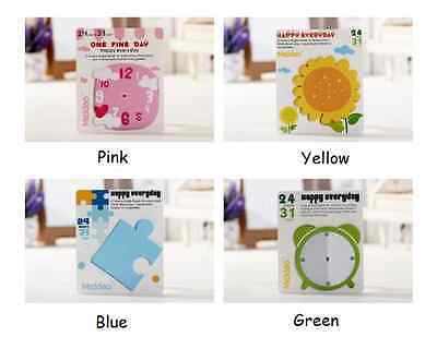 Puzzle / Clock / Timer / Flower Paper Sticky Post-it Note / Memo / Writing Pad