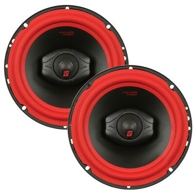 "New Pair Of Cerwin Vega V465 6.5"" 2-Way 400W Car Audio Coaxial Speakers 6.5In"