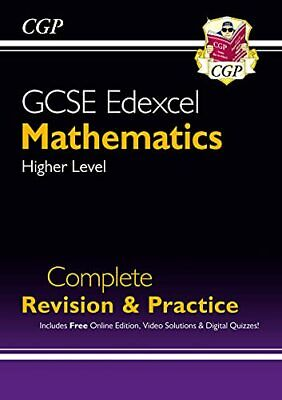 GCSE Maths Edexcel Complete Revision & Practice: Higher - Grade ... by CGP Books