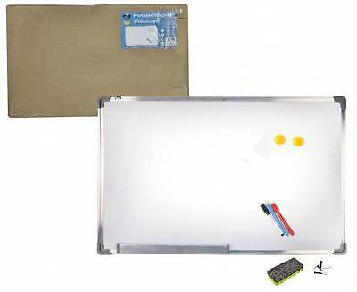 Magnetic Commercial Quality Portable Whiteboard 90cm x 60cm