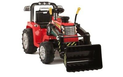 Twin Motor Tractor 12V Kids Children Electric Battery Ride On Tractor