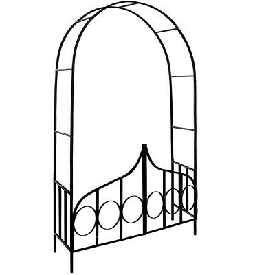 Rose Arch Garden Gate Metal Trellis Climbing Flowers Plants Archway Arches NEW