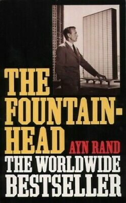 The Fountainhead, Rand, Ayn Paperback Book The Cheap Fast Free Post