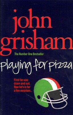 Playing for Pizza by John Grisham Paperback Book (English)