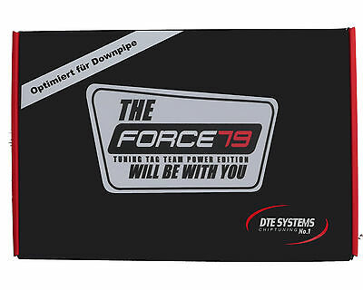 Force79 DTE Chiptuning für BMW 5er F10 01.2010- M550d xive 381 PS opt. Downpipe
