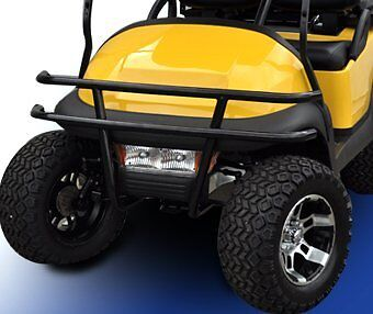 Black Brush Guard Club Car Precedent Golf Carts Easy Install Great Quality Nice!