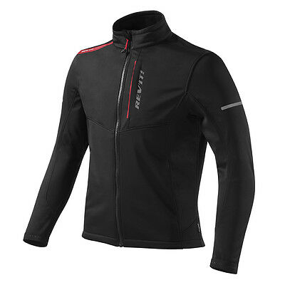 Rev'it! Radiant WindBarrier Motorcycle Jacket Black | Rev it Revit | All Sizes