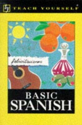 Teach Yourself Basic Spanish (TYL) by Kattan-Ibarra, Juan Paperback Book The