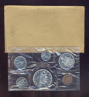 Canada, Original 6 Coin 1963 Silver Royal Mint Prooflike Set,  Free USA Shipping