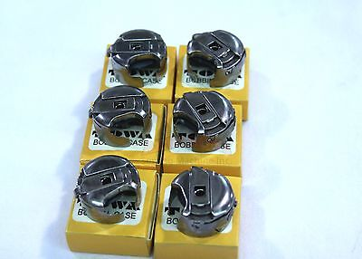 6 Bobbin Case #18045 M-Style Consew 206RB Walking Ft Industrial Sewing Machine