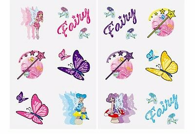 24 Fairy Princess Temporary Tattoos*party Bag Filler/ Prizes*kids*favours*girls*
