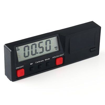Electronic Digital Inclinometer Angle Protractor Gauge Level Box Meter