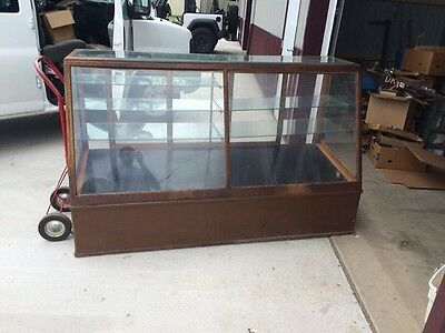 Columbus Display Company Large General Store Glass Cabinet