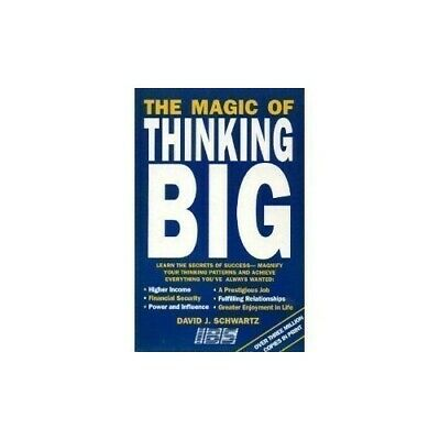 The Magic of Thinking Big, Schwartz, David J. Paperback Book The Cheap Fast Free