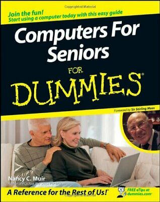 Computers for Seniors For Dummies by Muir, Nancy C. Paperback Book The Cheap