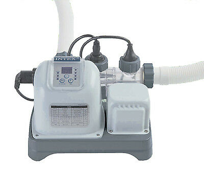 Intex Krystal Clear Eco Friendly Deluxe Saltwater Pool Filter System  #28664