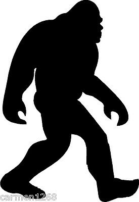 Bigfoot Sasquatch Windshield decal sticker Car truck laptop Window mirror laptop