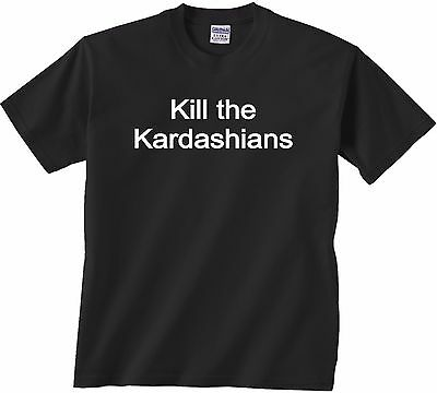 Must Have - Kill The Kardashians Black Tee - Worn On Stage By Slayer Guitarist