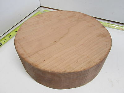 "Colour Cherry Wood Turning Bowl Blank (3"" x 10'')"