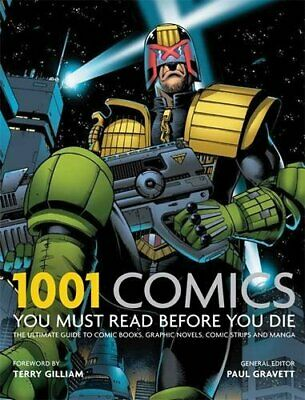 1001 Comics You Must Read Before You Die by Gravett, Paul Book The Cheap Fast