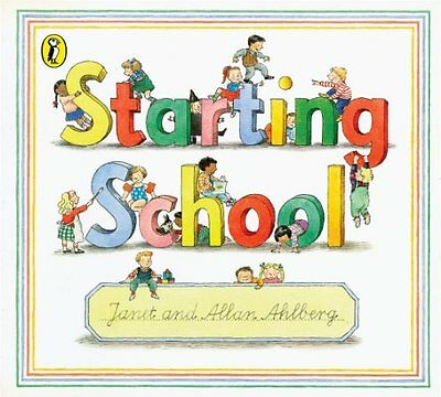 Starting School (Picture Puffin), Ahlberg, Allan Paperback Book The Cheap Fast