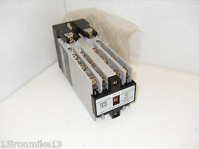 New Square-D 8501-Xo 1000 Ac Control Relay 8501Xo1000  ****fast Shipping*****