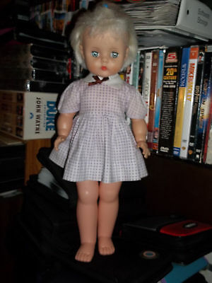 """Beautiful Vintage 16"""" Horsman doll with Rooted Hair"""