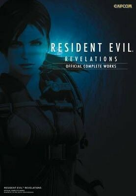 Resident Evil Revelations: Official Complete Works by Capcom Paperback Book (Eng