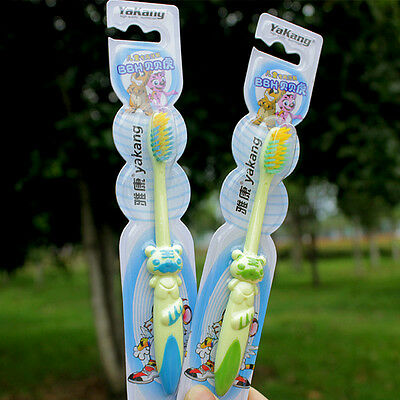 Baby Toddler Kids Children Toothbrush Soft Hair Brush Teeth Clearer Oral Healthy
