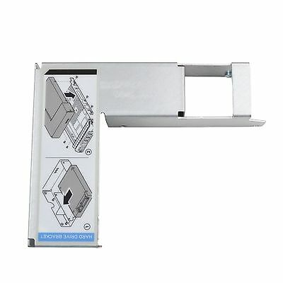 """3.5"""" to 2.5"""" SAS/SATA Hard Drive Caddy Tray Adapter For Dell 9W8C4 Y004G F238F"""