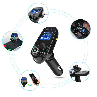 Bluetooth Wireless FM Transmitter MP3 Player Car kit USB Charger for iPHONE 6 6S