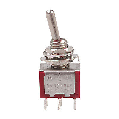 50 Pcs New Red 3 Position ON-OFF-ON DPDT Toggle Switches
