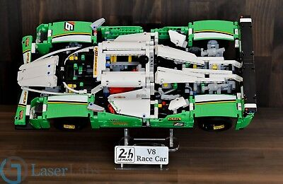 Lego 42039 24 Hour Race Car - custom display stand only