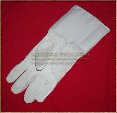 Fencing Glove - SHEEP SKIN - RIGHT HAND size 9 Sabre Foil Epee Martial Art