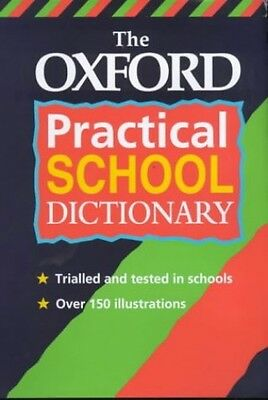 The Oxford Practical School Dictionary, Hachette Children's Books Hardback Book