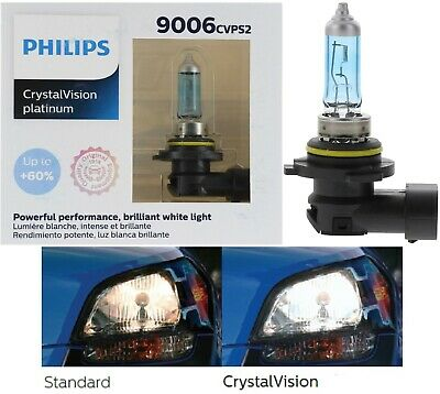 Philips Crystal Vision Ultra 9006 Hb4 55W 2 Two Bulb Headlight Low Beam Fog Lamp
