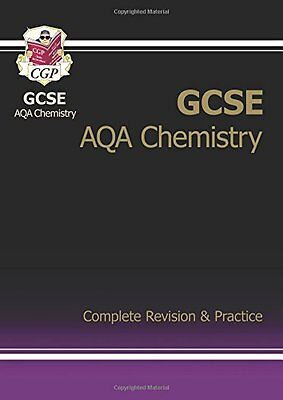 GCSE Chemistry AQA Complete Revision & Practice, CGP Books Book The Cheap Fast