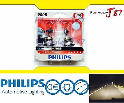 Philips X-Treme Vision 9008 H13 60/55W Two Bulb High Quality Head Light Stock