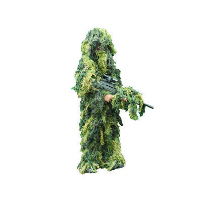 Kids Army Ghillie Suit Camo Boys And Girls Dress Up Costume Camouflage Military