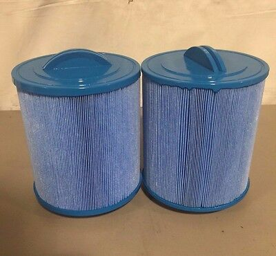 2 Pack Antimicrobial Spa Filters Fit Pas50Sv-F2M Fc-0311 Artesian Unicel 6Ch-502