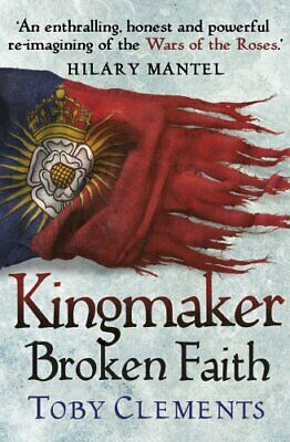 Kingmaker: Broken Faith: (Book 2) by Clements, Toby Book The Cheap Fast Free