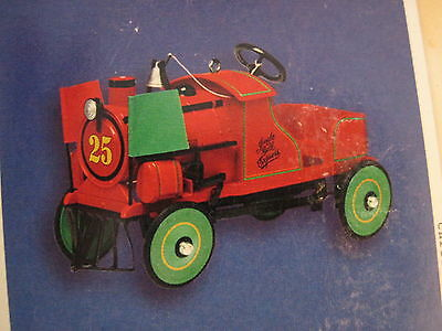 2002 Hallmark 1928 JINGLE BELL EXPRESS Ornament PEDAL KIDDIE CAR CLASSICS #9