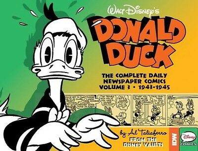 Walt Disney's Donald Duck: The Daily Newspaper Comics, Volume 3: 1943-1945 by Bo