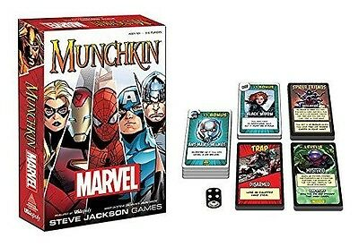 USAopoly Munchkin Marvel Edition