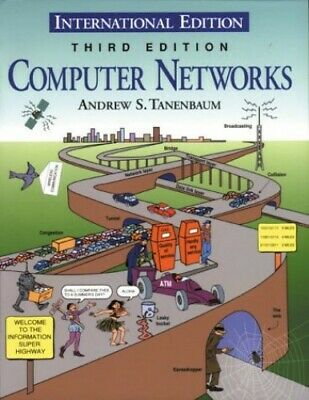 Computer Networks, Tanenbaum, Andrew S. Paperback Book The Cheap Fast Free Post